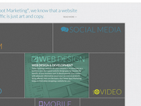 Online Marketing Website Concept Revised
