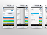 Dell Mobile Android App Redesign