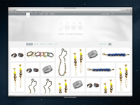 White Feather Designs Site Concept