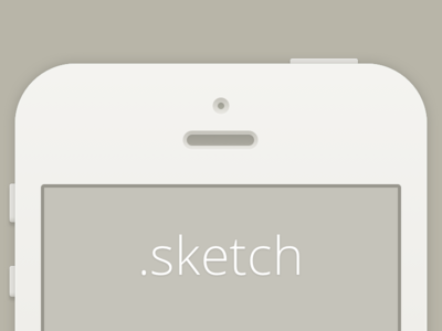 Download Minimal iPhone (for Sketch.app)