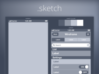Wireframe iPhone