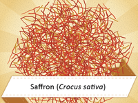 Ayurvedic Tip: Saffron supports mood