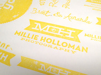 Millie Holloman Photography Stamp