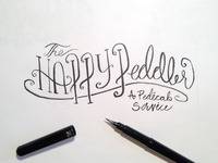 The Happy Peddler Inked