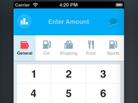 Spender - expense tracking app for iPhone