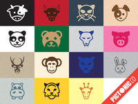 Pictonic - Font Icons: Animals