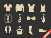 Pictonic - Font Icons: Clothing