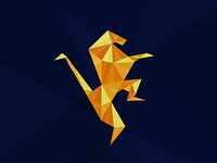 Rebound our logo or get inspired :) Diamond cuts concept