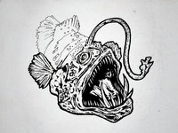 Angler Fish / Work in Progress