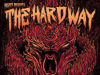 "The Hard Way - 12"" sleeve design (front)"