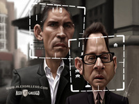Person of Interest caricature