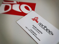 redbee - Branding and Business cards