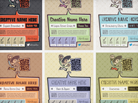 Steep This! - tea pouch label templates