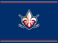 Quebec hockey crest
