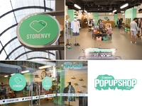 Pop-Up Shop Branding