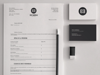 Eric BARBEAU - Stationery