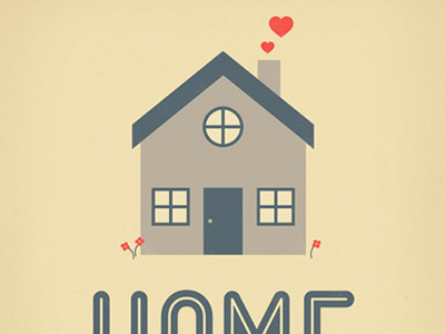 Dribbble  Home Sweet Home by Nayla Smith