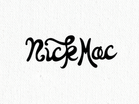 Maybe a Nick Mac logo.