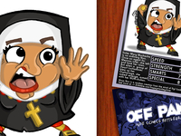 Off Panel Card Game - Ninja Nun