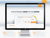 PSD to HTML Website Design