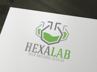 Hexa Lab Logo Template