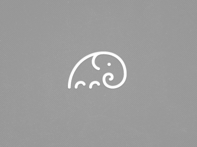 Dribbble-designs-elephant-icon