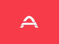 'A' Concept mark for a Dutch webhosting company.