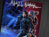Book Cover - Heavy Metal Thunder