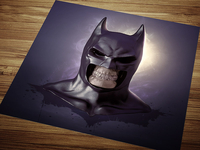 Batman skullified