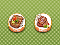 Bar B Q Project Icons