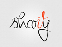 Sharity logo concept
