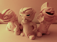 Clay (Ceramic) Dudes