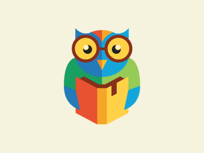 owl猫头鹰图形icon设计