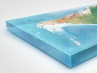 Earth Illustrations in 3D - South America