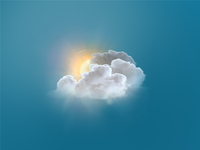 Cloud Weather Icon V3