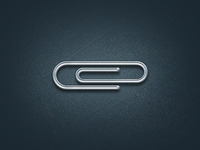 Free PSD Paperclip for fun