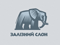 Iron elephant logo