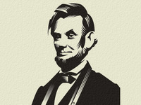 Abraham Lincoln letterpress