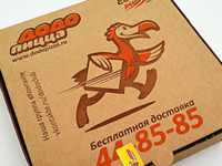 Dodo PIZZA box