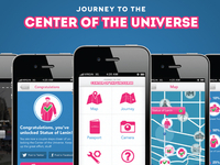 Center of the Universe - iPhone Concept App