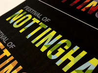 Festival of Nottingham branding