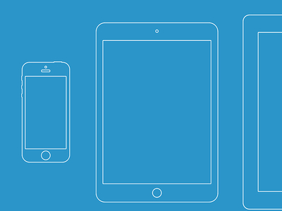 Download Wireframe iDevices
