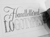 Handlettered Logotypes- Sketch