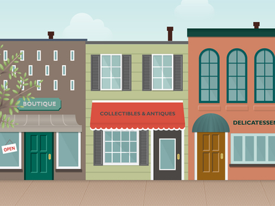 Storefront Illustration