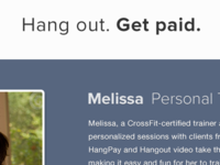 Hang out. Get paid.