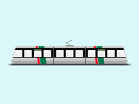 Tram illustration