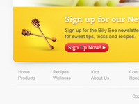 Honey Site Footer