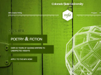 Creative Writing MFA - CSU