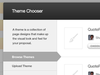 QuoteRobot Theme Chooser