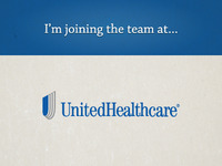 Joining the team at United Healthcare